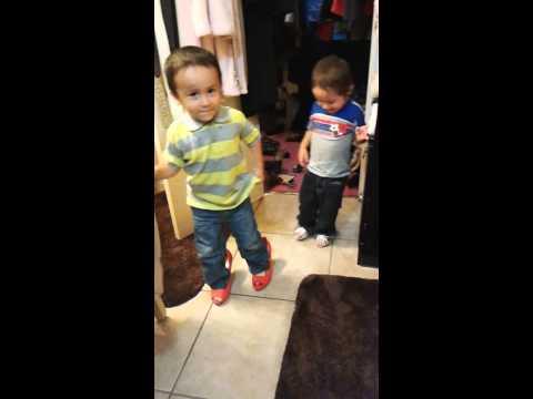 The time they decided to go through gmas closet