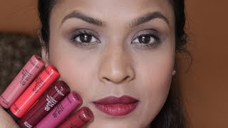 The Body Shop Matte Lip Liquid Swatches