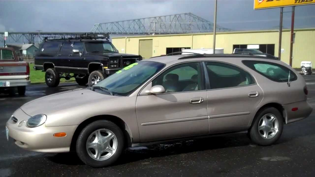 1999 ford taurus se wagon sold