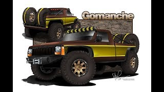 First Step to Building a Jeep Comanche Rock Crawler