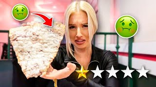 Eating At The WORST Reviewed PIZZA Restaurant In My City! (1 STAR)