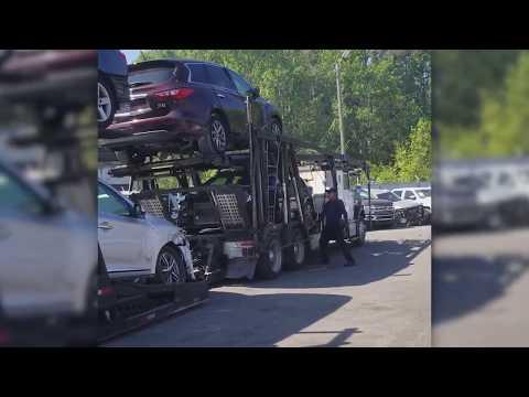 Авто из США | Работа терминала в Savannah изнутри: прибытие автомобилей, фото, склад, прием посылок