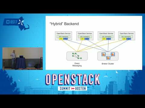 Hybrid Messaging Solutions for Large Scale OpenStack Deployments