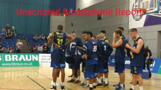 DBL Sharks versus Plymouth Raiders 2nd October 2016