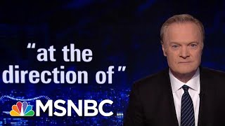 Lawrence: Michael Cohen Says Donald Trump Ordered Him To Commit Crimes   The Last Word   MSNBC