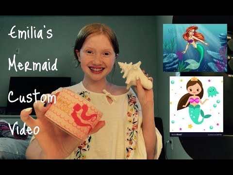 ASMR- Emilia's Custom Birthday Video! Ocean Themed  🌊 🧜♀️ ❤️