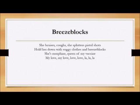 Breezeblocks, Soundcloud remix