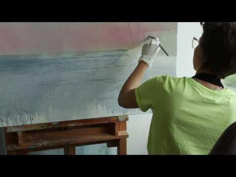 In the studio with contemporary painter Boglarka Nagy