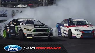 Formula DRIFT Irwindale | Vaughn Gittin Jr. Recap | Ford Performance