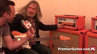 Musikmesse '15 - Orange Amps Rockerverb 100 MKIII & Orange Bax Bangeetar Guitar Pre EQ Demos