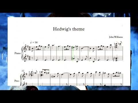 Harry Potter - Hedwig's theme(piano sheet)