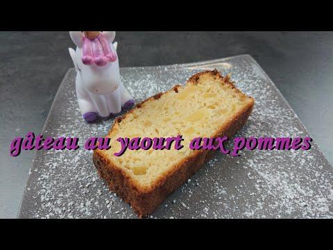 recette-facile-de-gâteau-au-yaourt-aux-pommes