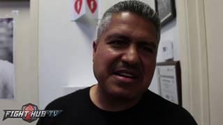 Robert Garcia on Mayweather vs McGregor
