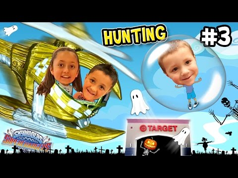 Skylanders SuperChargers Hunting HALLOWEEN Fun! Day 1 Variants Adventure Haul + Unboxing (Pt. 3)