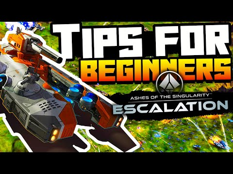 Top 15 Tips & Tricks For New Players In Ashes of Singularity Escalation Things I Wish I Knew Sooner!
