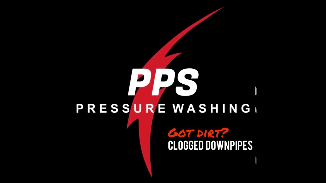 Unclogging Your Downpipes with Pressure Washing