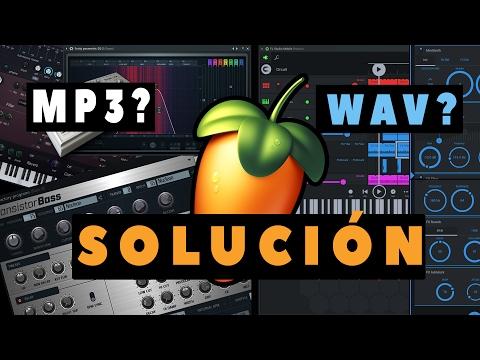 FL STUDIO NO ME DEJA ARRASTRAR MP3 O WAV -  SOLUCIÓN