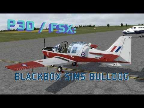 FSX / P3D Review - Blackbox Simulations Scottish Aviation Bulldog