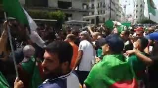 الجزائر الآن | آلاف المتظاهرين بالجمعة الـ21 يرددون