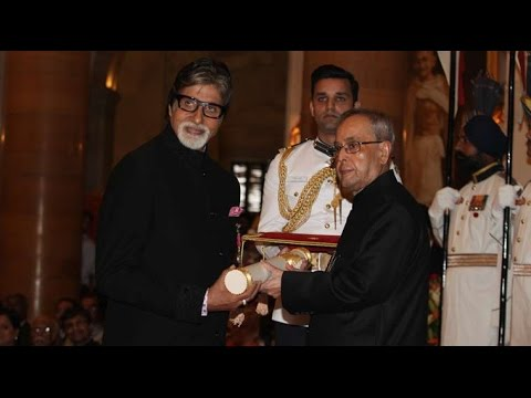 Amitabh Bachchan, Dilip Kumar, Aga Khan and 48 others given Padma awards