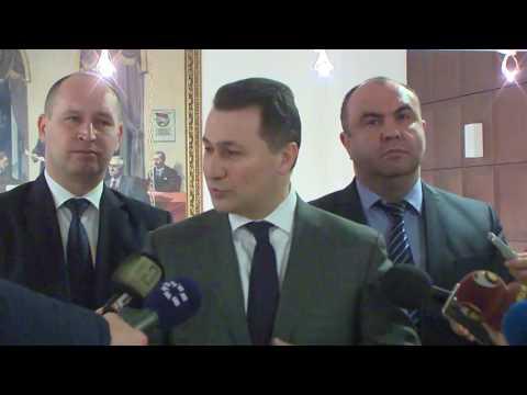 Груевски: ВМРО-ДПМНЕ останува на бедемот на националните и државни интереси
