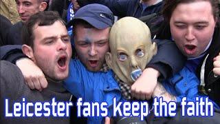Leicester City fans keep the faith (May 1, 2016)