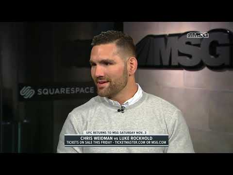 Chris Weidman Discusses Upcoming Fight vs. Rockhold in UFC 230