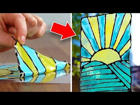 12 Colorful DIY Art Projects And Hacks