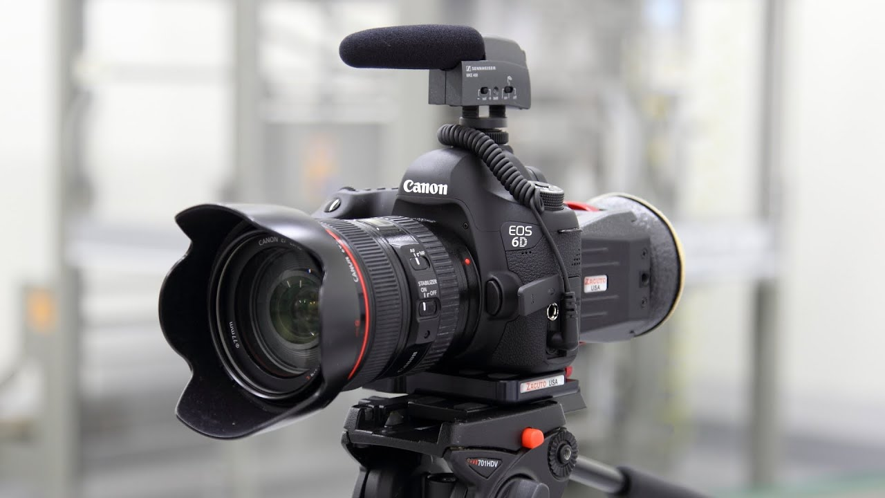 how to connect eos to canon 6d