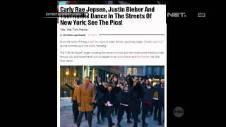 Tom Hanks dan Justin Bieber Berdansa di Video Klip Carly Rae Jepsen