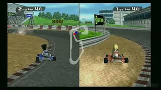 Deca Sports Nintendo Wii Gameplay - Kart racing