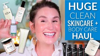 I SPENT ALL MY MONEY ON SKINCARE + BODY CARE | Clean Beauty Self Care Haul
