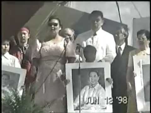 Imelda Marcos and Cory Aquino Bicolanos Got Talent