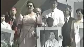 Imelda Marcos and Cory Aquino Bicolanos Got Talent