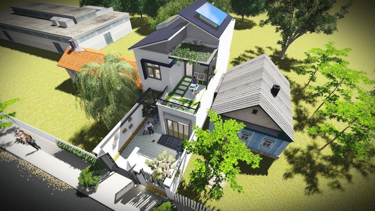 Nhà đẹp 2 tầng 6x12m của v.chồng trẻ trọn gói 990 triệu ở Trảng Dài – Biên Hòa