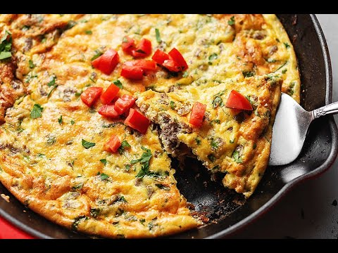 Keto Frittata with Sausage