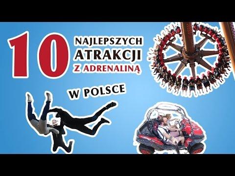 10 Najlepszych Atrakcji Z Adrenaliną W Polsce