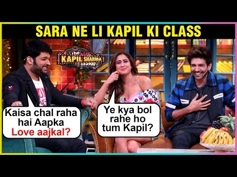 The Kapil Sharma Show HILARIOUS Comedy With Kartik Aaryan Sara Ali Khan | Kapil Sharma Show