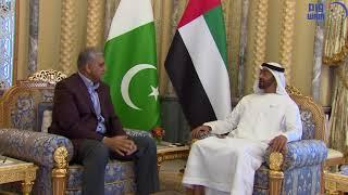 محمد بن زايد يبحث مع قائد الجيش الباكستاني سبل تعزيز التعاون
