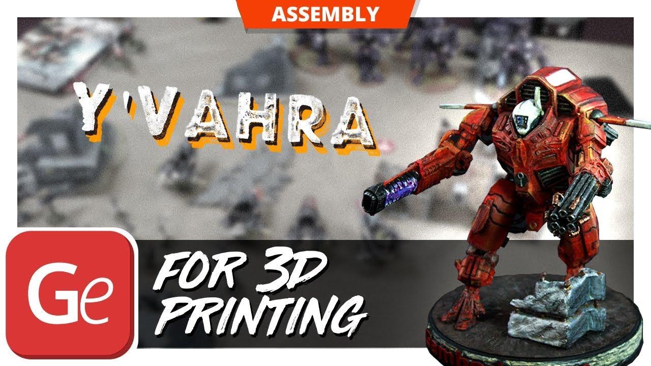 Très Warhammer 40K TAU XV109 Y'Vahra 3D Print Model - YouTube SL22