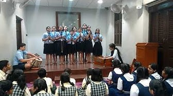 Orion School - Group Singing Competition 2018 by Gandhi Smarak Nidhi