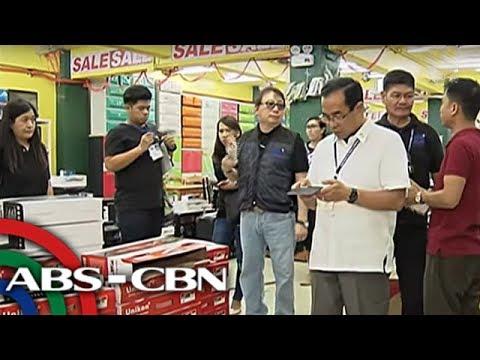 TV Patrol: Daan-daang appliances, electronic devices, kinumpiska ng DTI