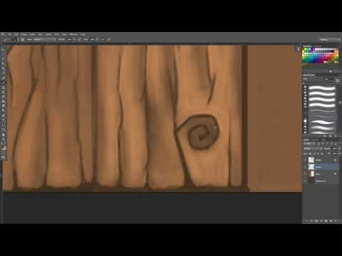 Hand painting textures