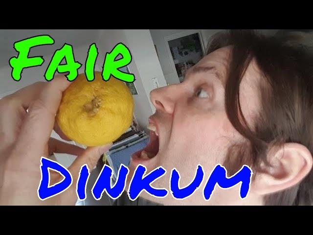 Australian English: Fair dinkum