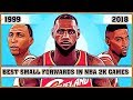 Best Small Forwards in NBA 2K games |NBA 2K - NBA 2K18]