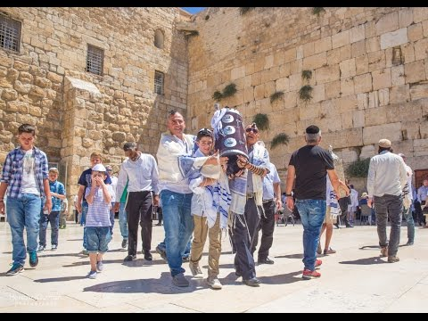 The video of Tal Peretz Bar Mitzvah at the Kotel, Jerusalem