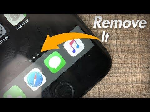Secret IPhone Wallpaper Trick - Remove The Dots
