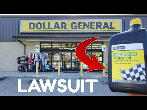 Dollar General Motor Oil DESTROYED My Engine! Class Action Lawsuit