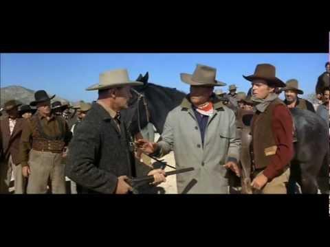 John Wayne ~ ''The Hell I Won't!''.