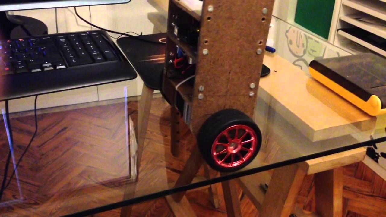 Self Balancing Robot Arduino Bipolar Stepper Motors